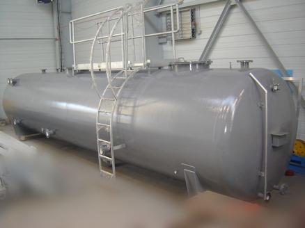 Ölwassertank