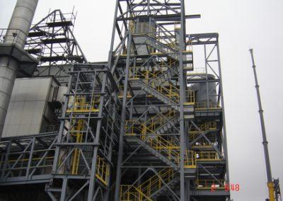 Konstrukcja stalowa wsporcza wieży