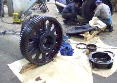 Zylindergetriebe- Wartung